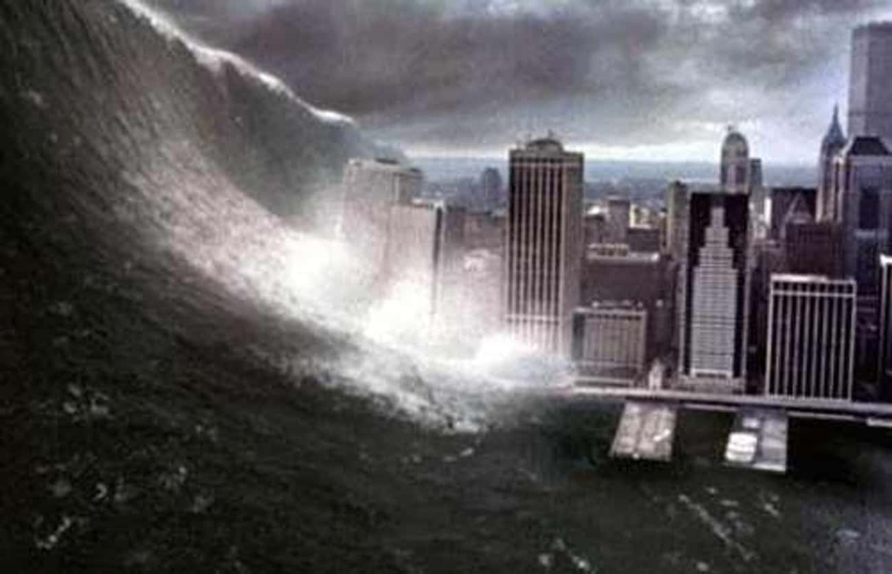 Mega Tidal Wave, Deep Impact is listed (or ranked) 4 on the list Times New York Was Destroyed on Film