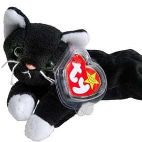Zip is listed (or ranked) 10 on the list The Best Beanie Babies Ever Made