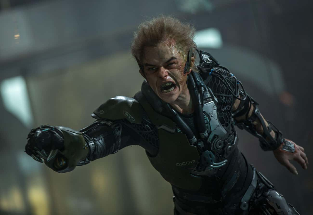 Green Goblin (Dane DeHaan) is listed (or ranked) 3 on the list The Worst Comic Book Movie Super Villain Costumes