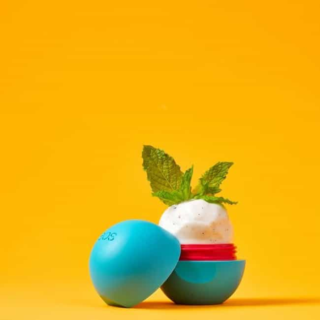Vanilla Mint is listed (or ranked) 3 on the list The Best EOS Lip Balm Flavors