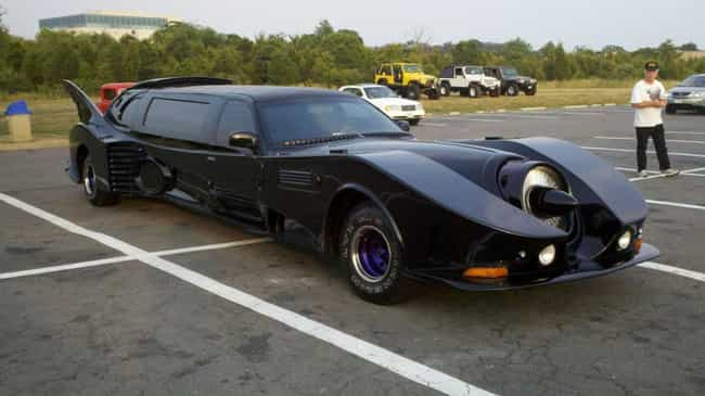 Bat-Limo is listed (or ranked) 3 on the list The Most Absurd Things Ever Done to Cars
