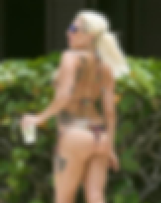 Lady Gaga Shows off her Beach ... is listed (or ranked) 3 on the list Lady Gaga Bikini Pictures