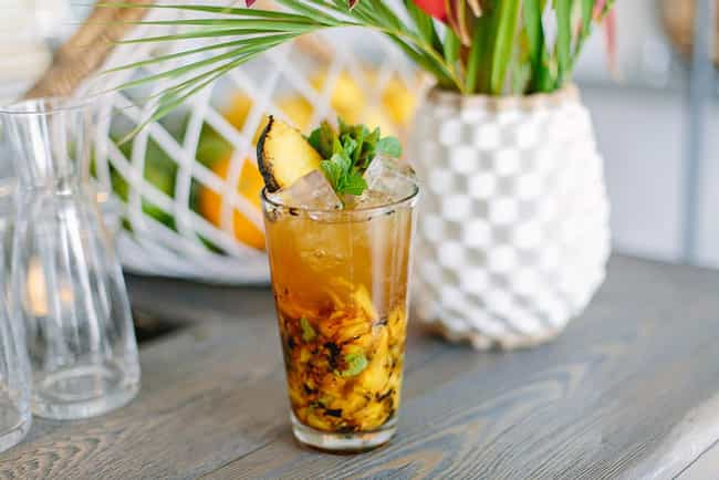 Charred Pineapple Mojito... is listed (or ranked) 4 on the list The Most Hipster Drinks You Can Order