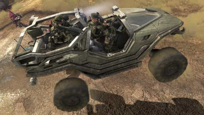 Warthog - Halo is listed (or ranked) 3 on the list The Coolest Cars in Video Games