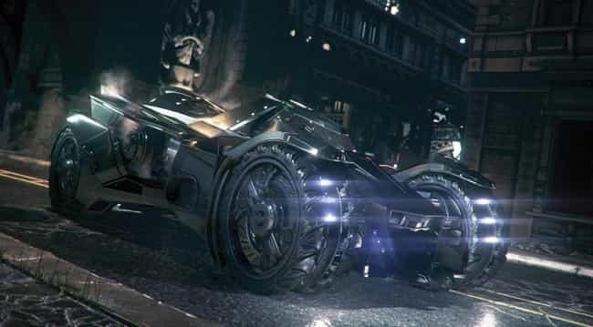 Batmobile - Arkham Knight is listed (or ranked) 1 on the list The Coolest Cars in Video Games