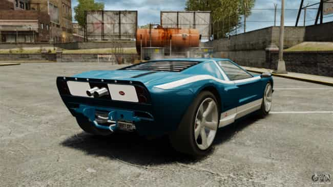 Bullet GT - GTA IV is listed (or ranked) 4 on the list The Coolest Cars in Video Games