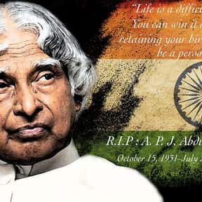 Kalam is listed (or ranked) 21 on the list Freedom Fighters of India