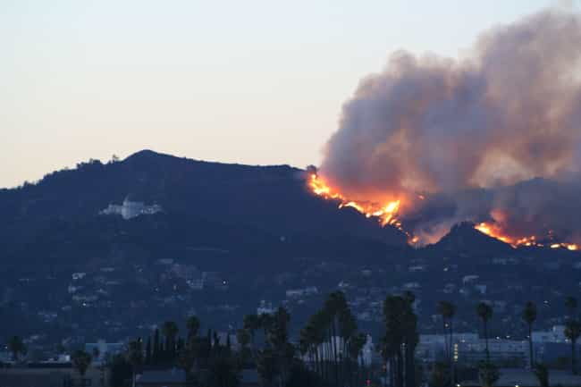 Griffith Park Fire is listed (or ranked) 5 on the list The Worst California Wildfires in History