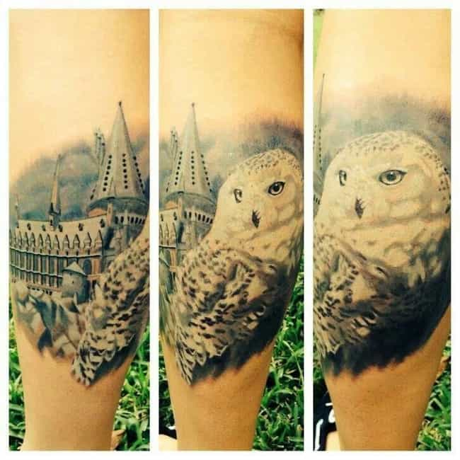 Hedwig and the Angry Inches of... is listed (or ranked) 2 on the list The Most Magical Harry Potter Tattoos