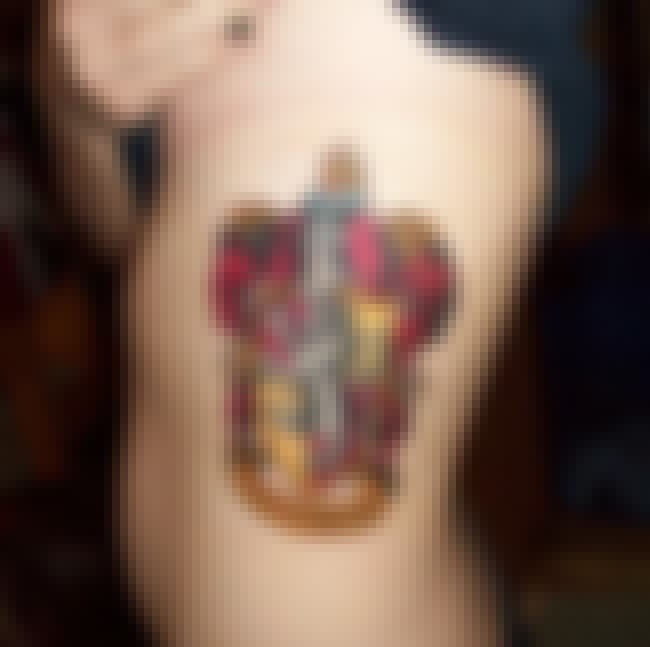 An Elaborate, Beautiful, Painf... is listed (or ranked) 7 on the list The Most Magical Harry Potter Tattoos