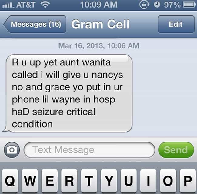 31 Reasons Why Grandma Is the Best Texter