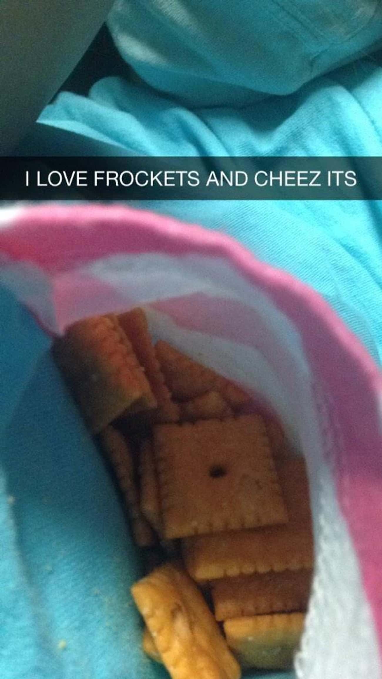 This Genius Frocket Engineer is listed (or ranked) 4 on the list 10 Drunk People Who Have Serious Snapchat Game