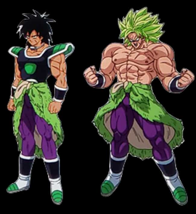 Broly is listed (or ranked) 4 on the list Ranking The Greatest DBZ Villains of All Time