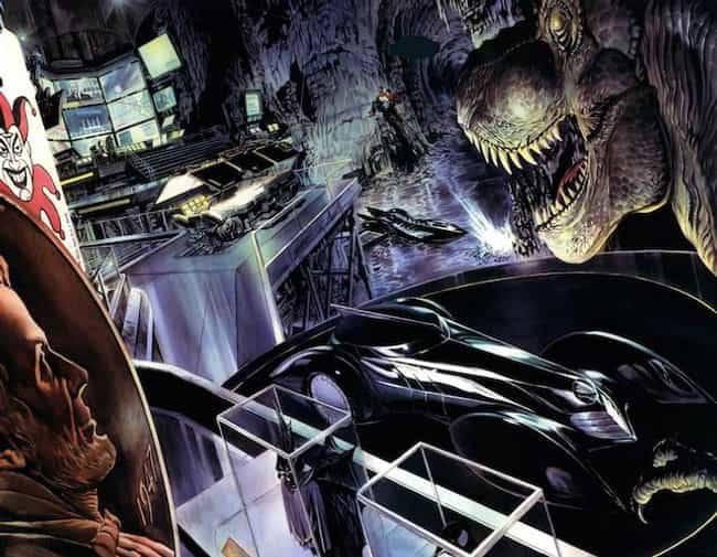 Justice is listed (or ranked) 2 on the list 25 Different Versions of Batman's Batcave, Ranked