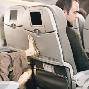 That Parent Who Doesn't Stop Their Kid Kicking Your Seat the Entire Flight on Random Most Annoying Things About Air Travel