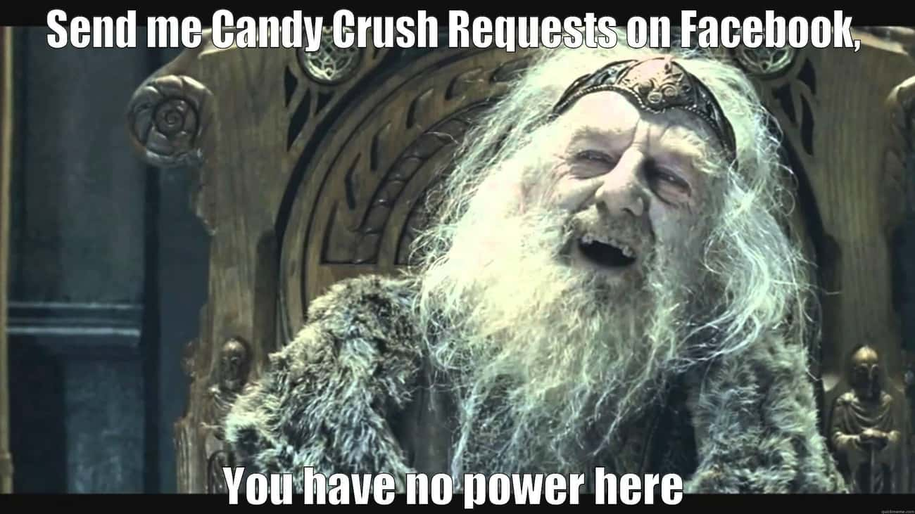 Candy Crush Invites is listed (or ranked) 3 on the list The Most Annoying Social Media Fads Ever