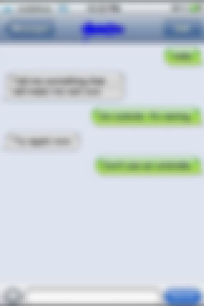 That's Clearly Not What Sh... is listed (or ranked) 4 on the list The Most Epic Sexting Fails of All Time