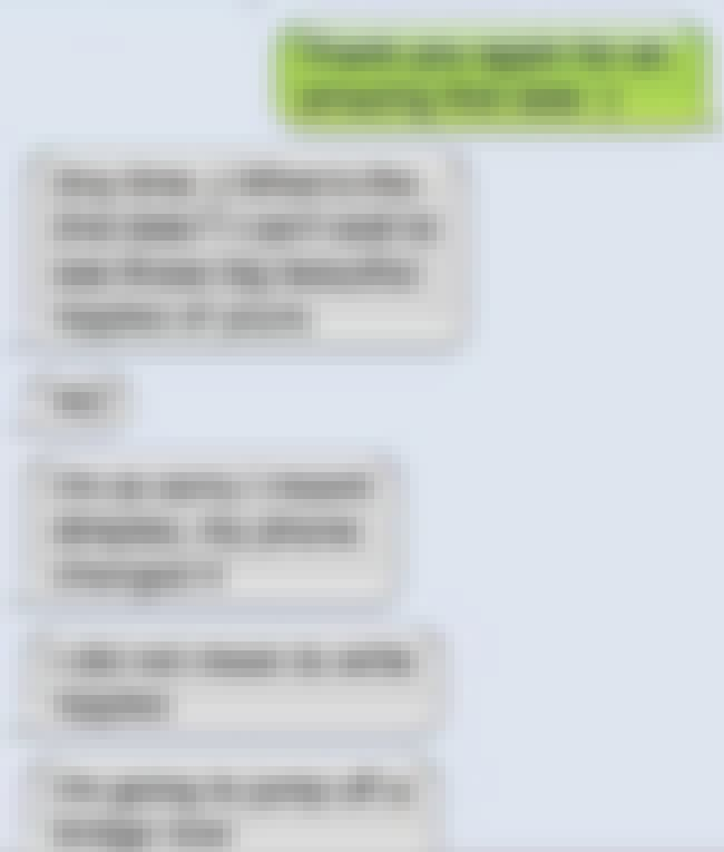 I Think He Blew It... is listed (or ranked) 4 on the list The Most Epic Sexting Fails of All Time