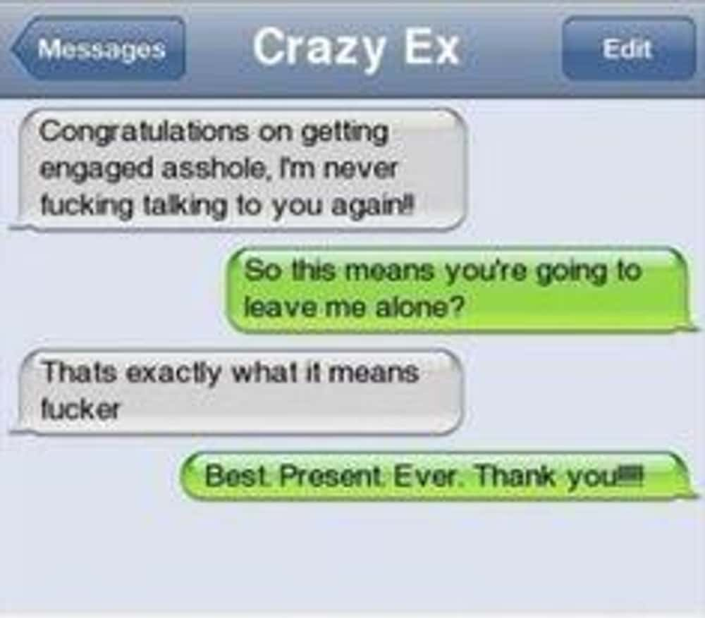 Best Present Ever! is listed (or ranked) 1 on the list The Best Texts of Exes Being Put in Their Place
