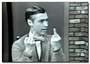 Who Knew Mr. Rogers Had This Side?