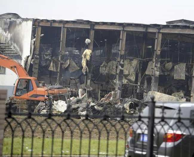 Dehui Poultry Factory Fire is listed (or ranked) 3 on the list The Worst Man-Made Disasters in China