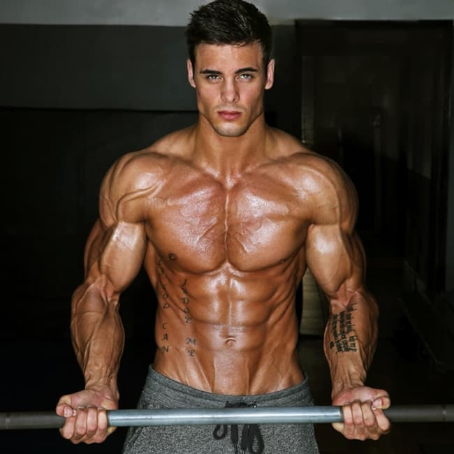 Logan Franklin Is Listed Or Ranked  On The List Hottest Male Bodybuilders