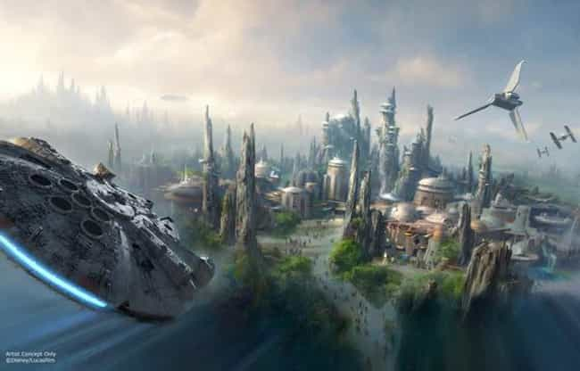 Star Wars Land Will Open In 20... is listed (or ranked) 1 on the list Everything You Should Know About the New Star Wars Land