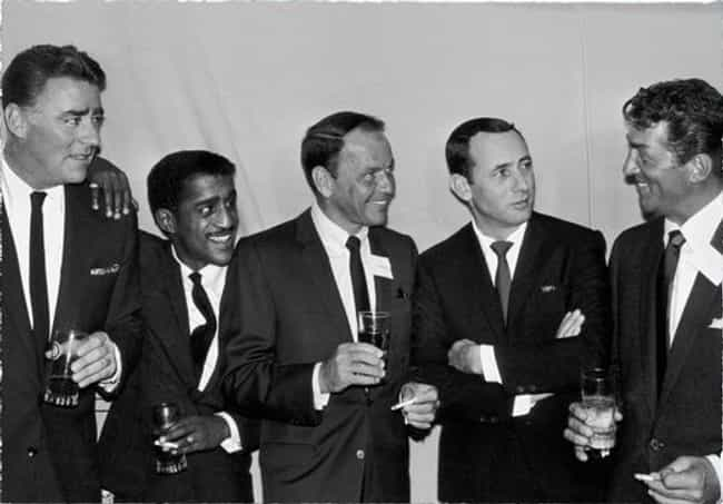 The Rat Pack is listed (or ranked) 4 on the list Celebrity Posses You Wish You Could Hang Out With