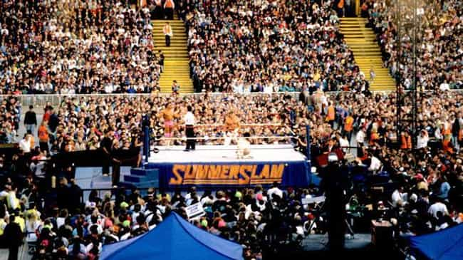 SummerSlam 1992 is listed (or ranked) 2 on the list The Best SummerSlams In History