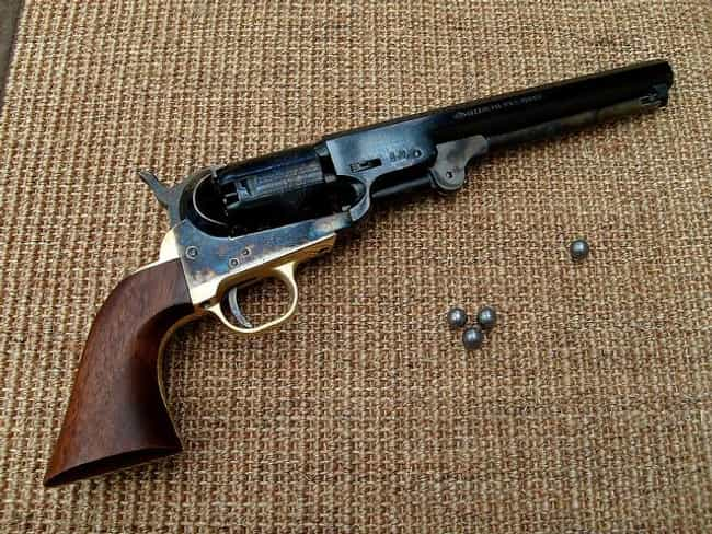 Colt 1851 Navy Revolver is listed (or ranked) 1 on the list The Most Iconic Civil War Weapons