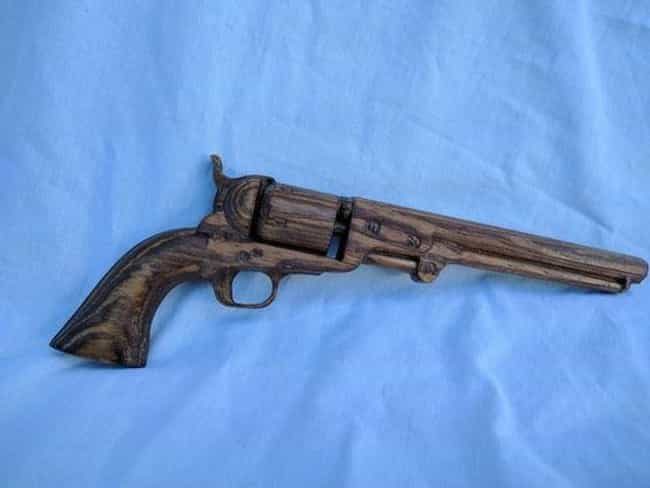 Colt 1851 Navy Revolver is listed (or ranked) 2 on the list The Most Iconic Civil War Weapons