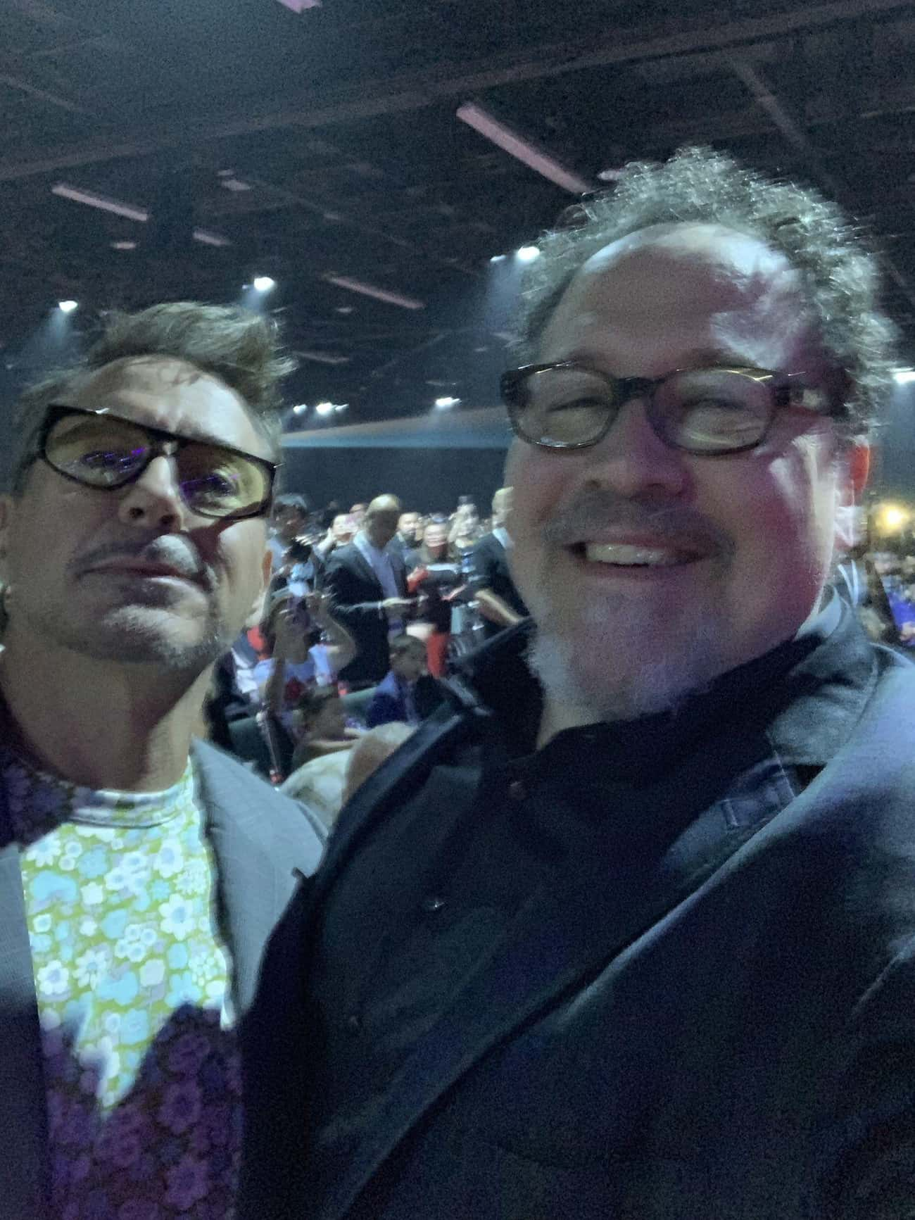 Favreau Wanted Downey Jr. as I is listed (or ranked) 1 on the list 20 Fun Facts About the Iron Man Movies
