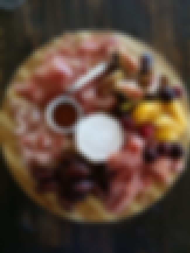 This Wonderful Wheel of Everyt... is listed (or ranked) 4 on the list The Meatiest Charcuterie on the Internet