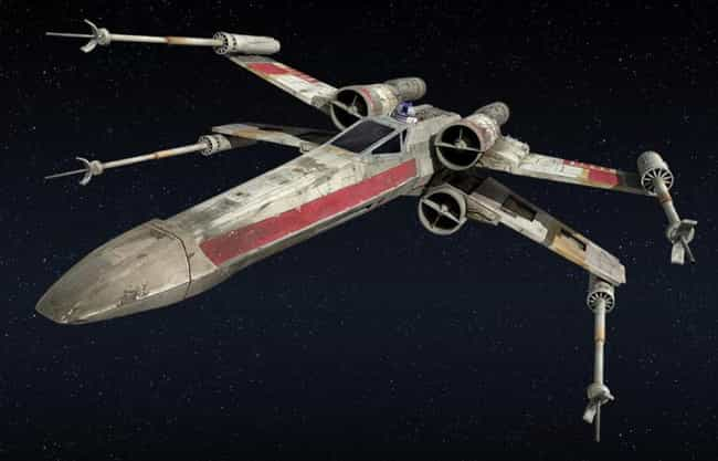 X-Wing is listed (or ranked) 3 on the list Sci-Fi Spaceships You'd Love to Fly