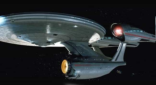 USS Enterprise is listed (or ranked) 2 on the list Sci-Fi Spaceships You'd Love to Fly