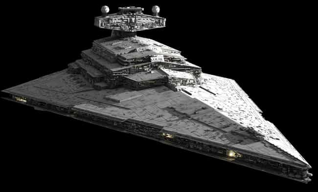 Star Destroyer is listed (or ranked) 4 on the list Sci-Fi Spaceships You'd Love to Fly