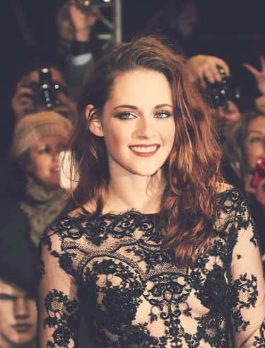 Kristen Stewart's Classic  is listed (or ranked) 1 on the list Kristen Stewart Actually Smiling & Looking Happy