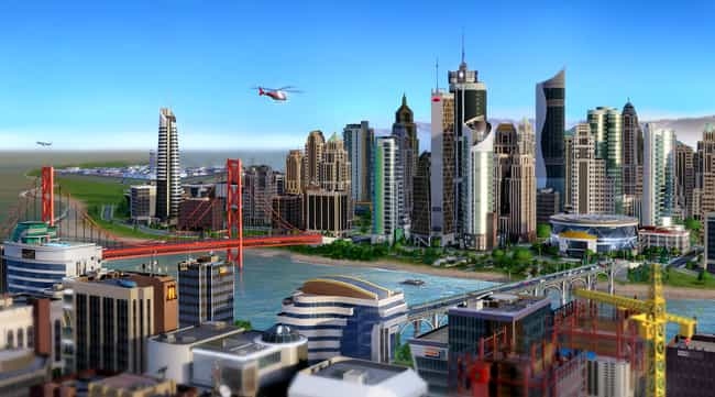 Simcity 2013 is listed (or ranked) 4 on the list 10 Hyped-Up RPGs That Are Extremely Overrated