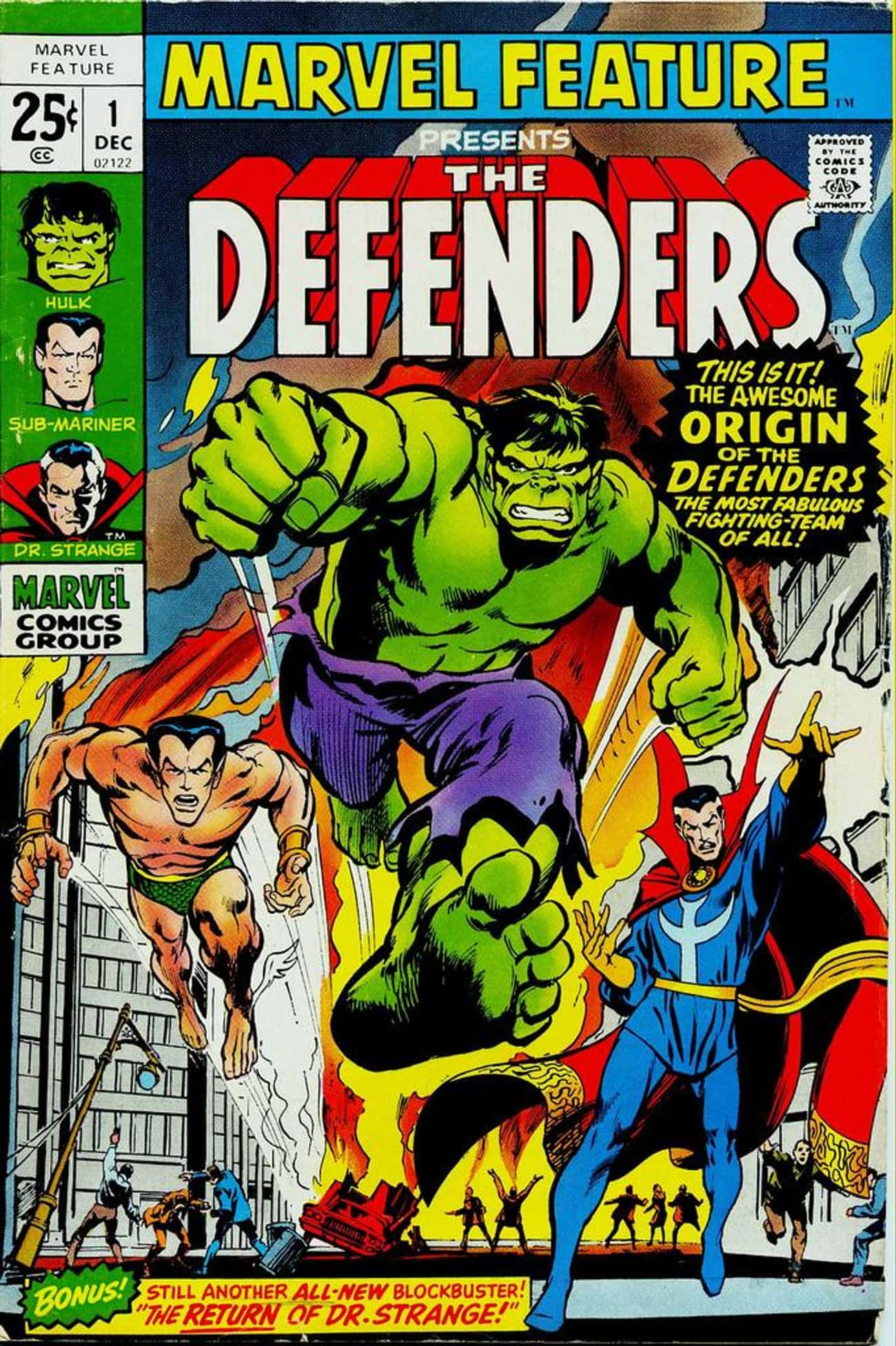 He Co-Founded the Defenders is listed (or ranked) 2 on the list 21 Things You Should Know About Doctor Strange