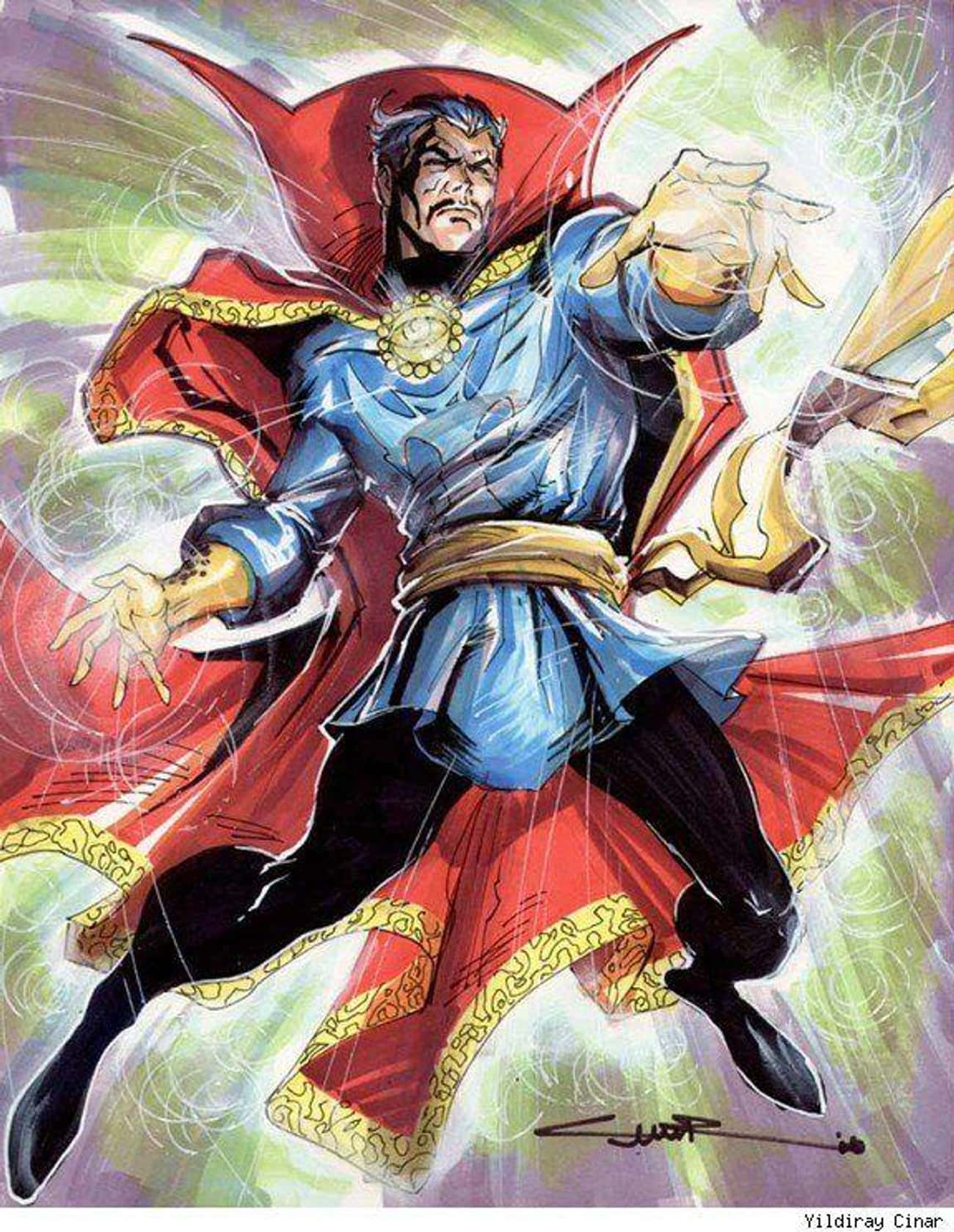 He Is the Sorcerer Supreme of  is listed (or ranked) 1 on the list 21 Things You Should Know About Doctor Strange