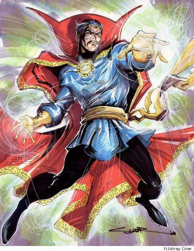 He Is the Sorcerer Supre... is listed (or ranked) 1 on the list 21 Things You Should Know About Doctor Strange
