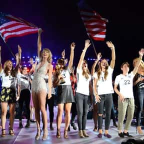 U.S. Women's Soccer Nation is listed (or ranked) 2 on the list People You Can't Believe Got Onstage for the 1989 Tour