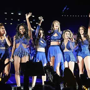 Fifth Harmony is listed (or ranked) 13 on the list People You Can't Believe Got Onstage for the 1989 Tour