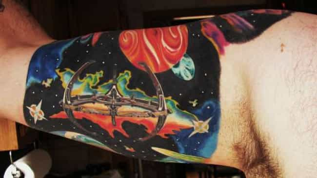 Do You Even Deep Space Nine, B... is listed (or ranked) 4 on the list 33 Star Trek Tattoos That Go Beyond the Final Frontier