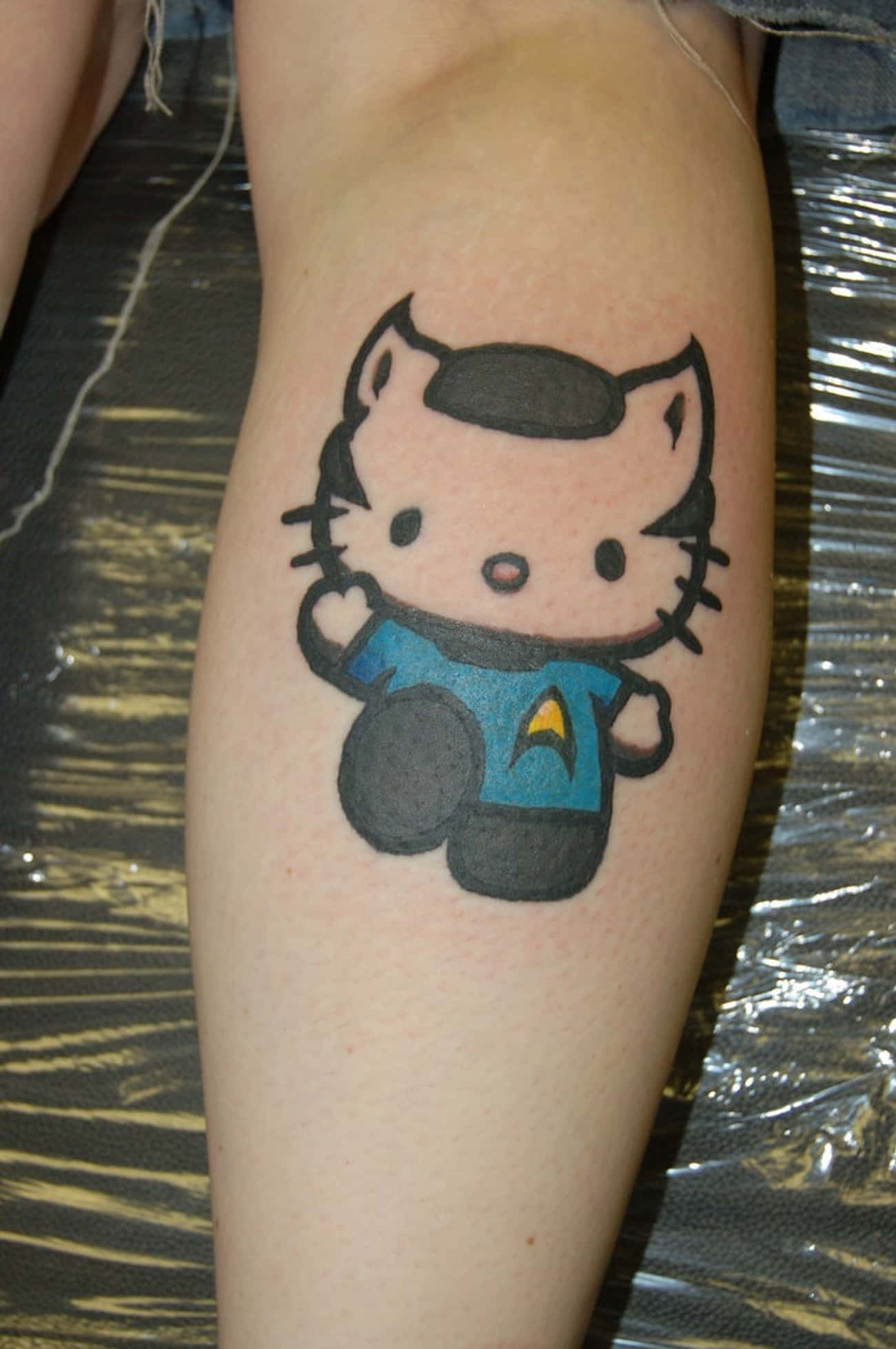 Hello Spocky is listed (or ranked) 4 on the list 33 Star Trek Tattoos That Go Beyond the Final Frontier