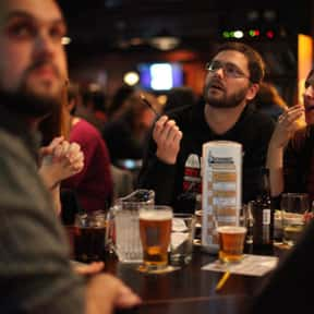 Trivia is listed (or ranked) 8 on the list Things That Aren't Nerdy Anymore