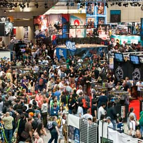 Comic-Con is listed (or ranked) 13 on the list Things That Aren't Nerdy Anymore