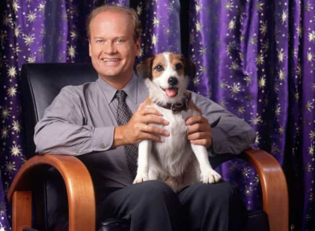 Eddie the Dog from Frasier is listed (or ranked) 1 on the list 16 Animal Actors Who Were Difficult on Set