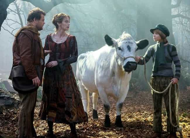 Milky White the Cow from Into ... is listed (or ranked) 2 on the list 16 Animal Actors Who Were Difficult on Set