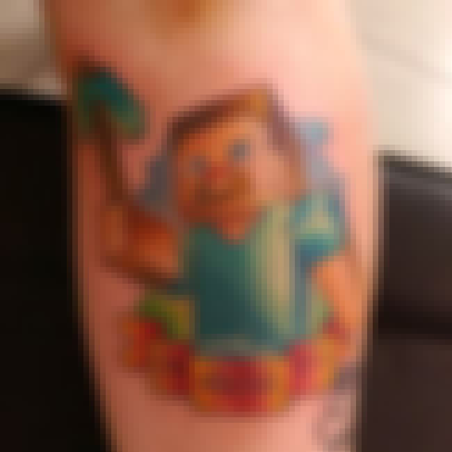 CAN YOU DIG IT SUCKA?! is listed (or ranked) 4 on the list 33 Minecraft Tattoos You Should Probably Get